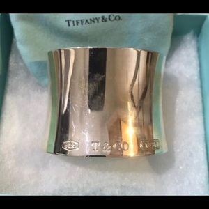 Jewelry - Tiffany and co 1837 extra wide cuff bangle